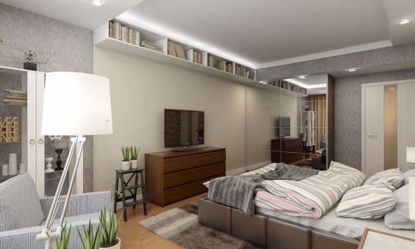 спальня в скандинавском стиле фото 6