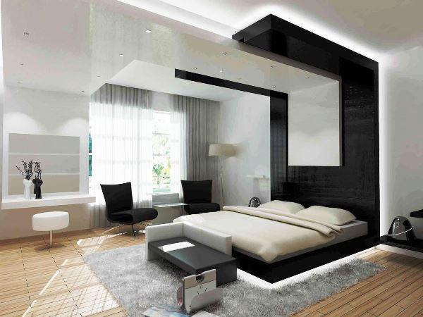 спальня в стиле модерн фото 11