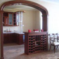 барная стойка в гостиной фото 31