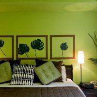 дизайн зеленой спальни фото 23