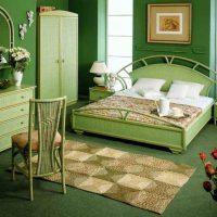 дизайн зеленой спальни фото 24