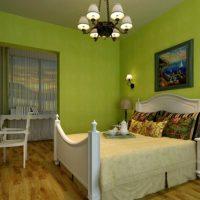 дизайн зеленой спальни фото 26
