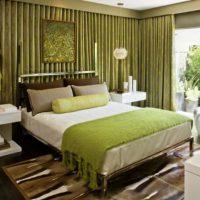 дизайн зеленой спальни фото 31