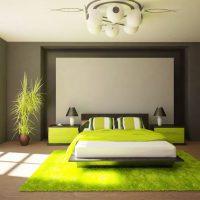 дизайн зеленой спальни фото 32