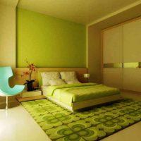 дизайн зеленой спальни фото 49