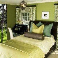 дизайн зеленой спальни фото 51