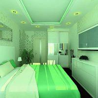 дизайн зеленой спальни фото 52