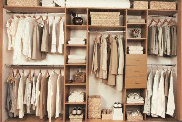 гардеробная комната фото в квартире