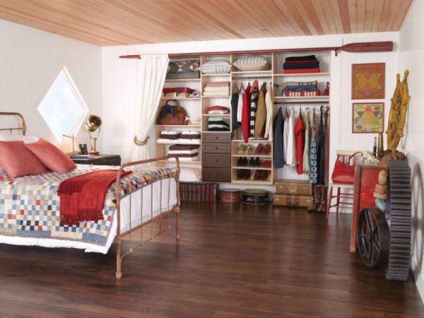 дизайн гардеробной комнаты маленького размера фото
