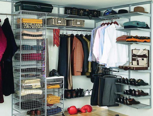 как сделать гардеробную в маленькой комнате фото