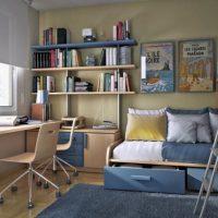 маленькие детские комнаты дизайн фото 2