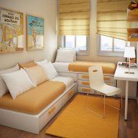 маленькие детские комнаты дизайн фото 26