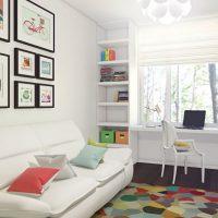 маленькие детские комнаты дизайн фото 34