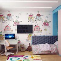 маленькие детские комнаты дизайн фото 39