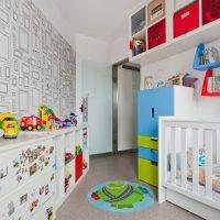 маленькие детские комнаты дизайн фото 48