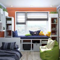 маленькие детские комнаты дизайн фото 56