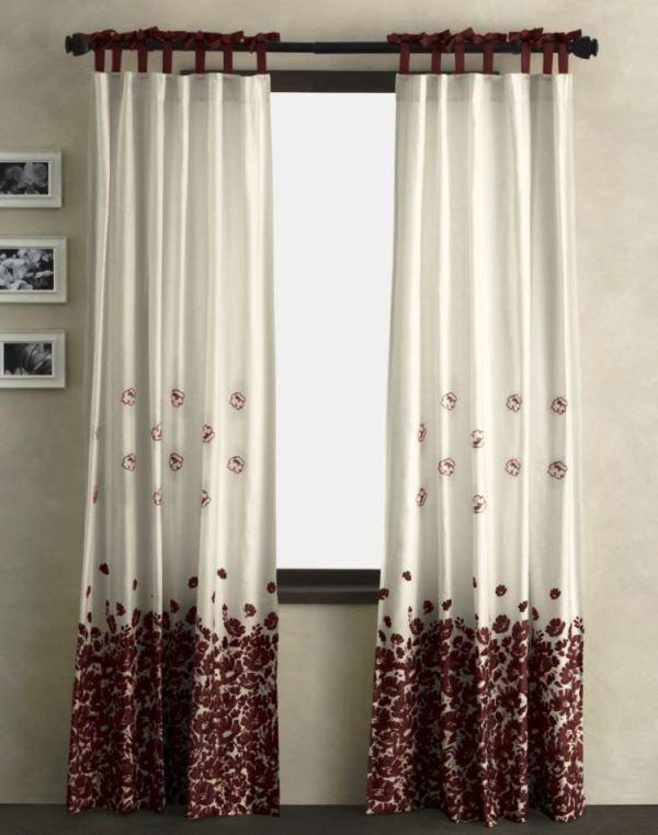 шторы с рисунком фото 10