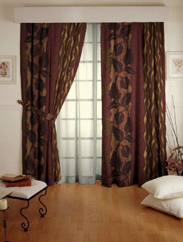 шторы с рисунком фото 3