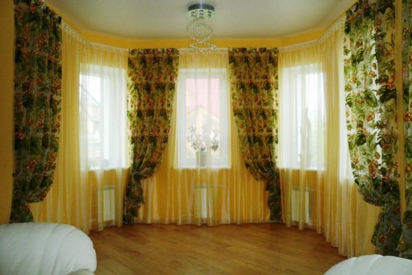 шторы с рисунком фото 4