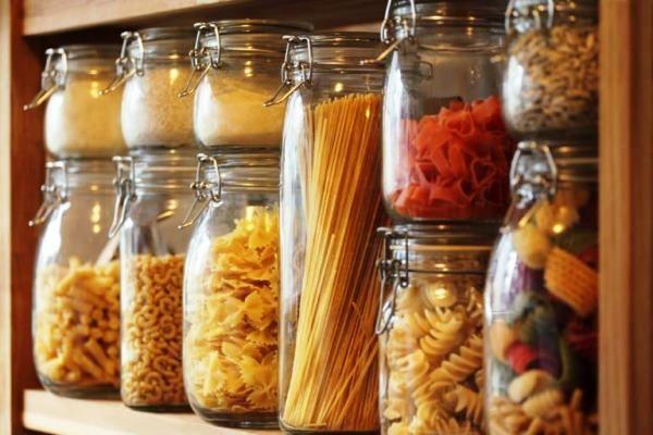системы хранения на кухне фото 38