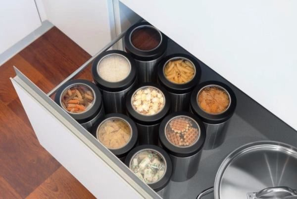 системы хранения на кухне фото 39