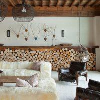 гостиная в скандинавском стиле фото 16