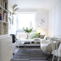 гостиная в скандинавском стиле фото 24