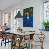 гостиная в скандинавском стиле фото 28