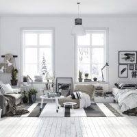 гостиная в скандинавском стиле фото 64