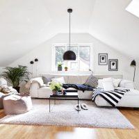 гостиная в скандинавском стиле фото 66