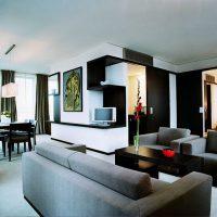 гостиная в стиле хай тек фото 47