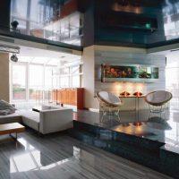 гостиная в стиле хай тек фото 70