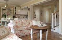гостиная в стиле прованс фото интерьер