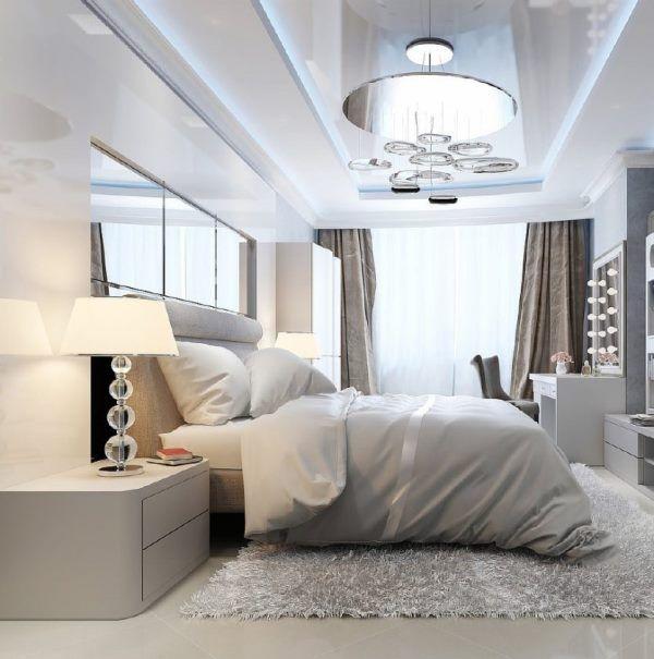 люстры для спальни с натяжным потолком фото