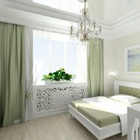 натяжные потолки в спальне фото 31