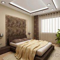 натяжные потолки в спальне фото 55