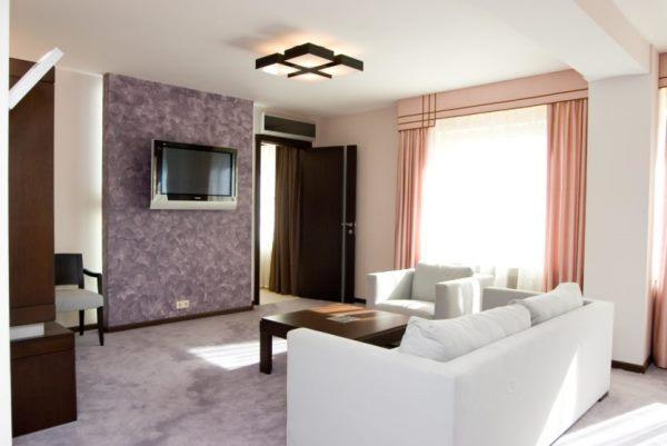 планировка гостиной фото 14