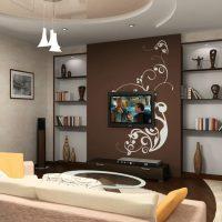 планировка гостиной фото 27