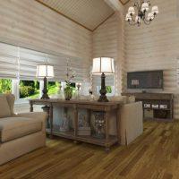 планировка гостиной фото 42