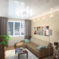 планировка гостиной фото 45