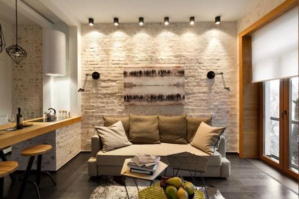 Ремонт однокомнатных квартир 40 кв м фото