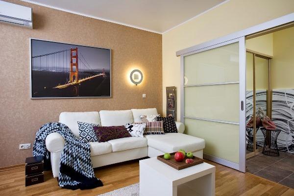 Отделка однокомнатной квартиры 40 кв фото