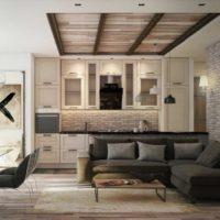 дизайн 1-комнатной квартиры 40 кв м фото 16