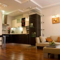 дизайн 1-комнатной квартиры 40 кв м фото