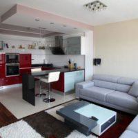 дизайн 1-комнатной квартиры 40 кв м фото 34