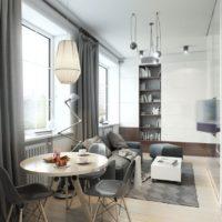 дизайн 1-комнатной квартиры 40 кв м фото 4