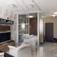 дизайн 1-комнатной квартиры 40 кв м фото 40