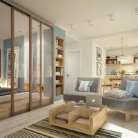 дизайн 1-комнатной квартиры 40 кв м фото 42