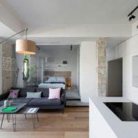 дизайн 1-комнатной квартиры 40 кв м фото 43