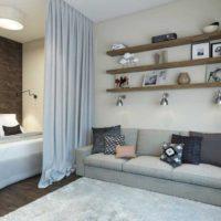 дизайн 1-комнатной квартиры 40 кв м фото 46